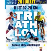 Affiche Triathlon du 28 juillet