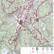 Nouveau parcours 38kms trail du Tumulus D+1900M