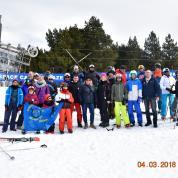 Sortie neige à Eyne 3 et 4 mars 2018